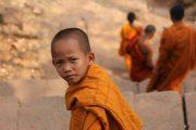Superviaggi 2018 - Laos - Giovane monaco buddista a Wat Phou