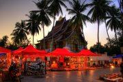 Superviaggi 2018 - Luang Prabang - mercato serale