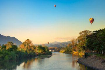 Superviaggi 2018 - Laos - Panorama di Vang Vieng