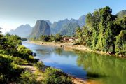 Superviaggi 2018 - Laos - Song river a Vang Vieng