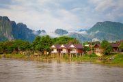 Superviaggi 2018 - Laos - Vang Vieng - Villaggio laotiano