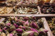 Particolare del mercato delle spezie a Marrakech