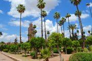 I giardini della Koutoubia a Marrakech