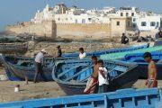 Essaouira - Barche blu nel porto