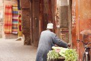 ...di ritorno dal mercato di Marrakech