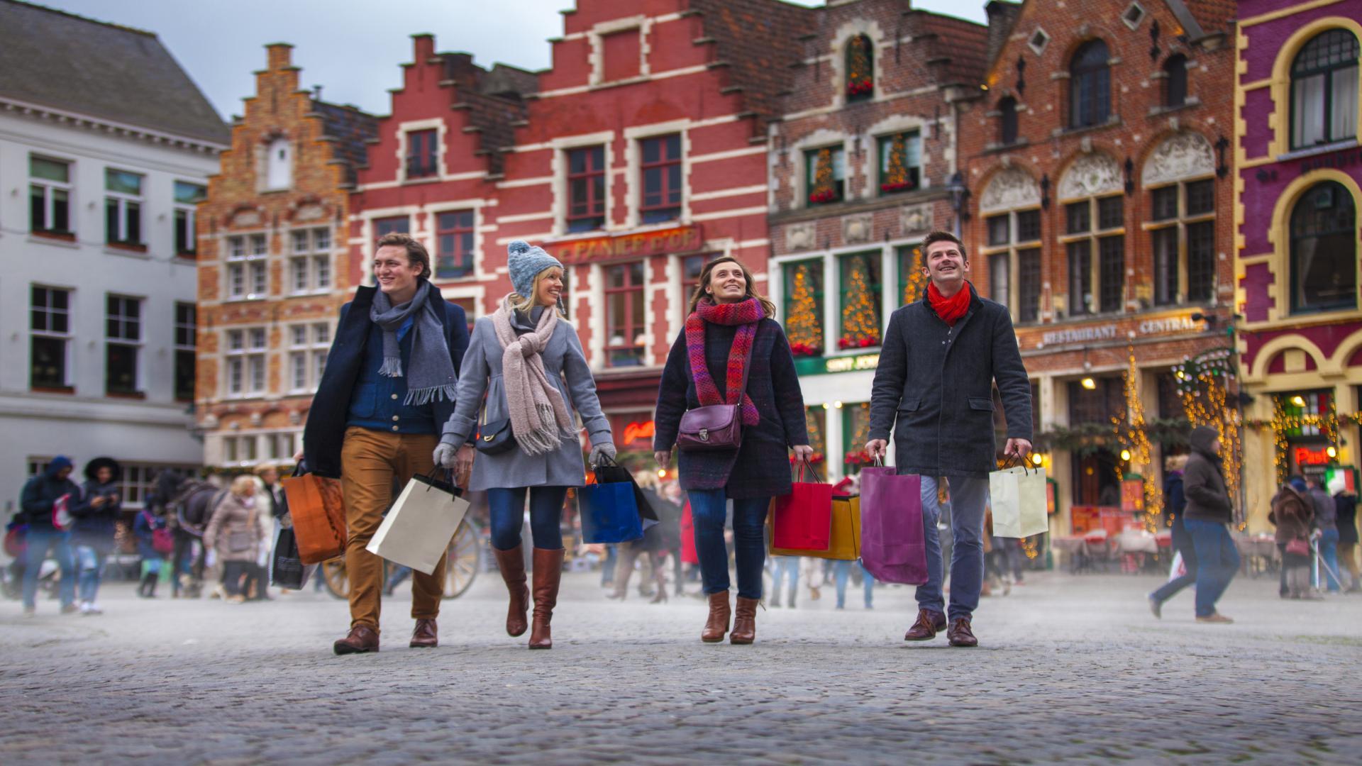 Bruges - shopping natalizio