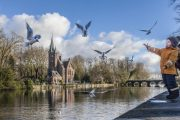 Bruges - Il Minnerwater - lago d'amore
