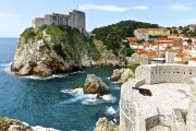 Dubrovnik, Croazia - vista forte