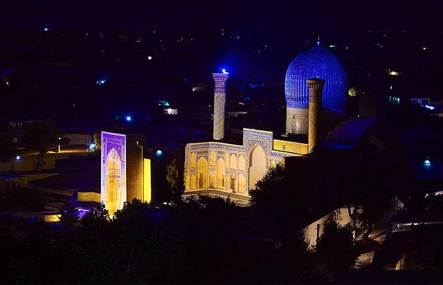 Uzbekistan - Samarcanda - Mausoleo di Tamerlano - Gur Amir