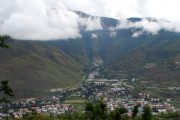 Bhutan - Vista di Thimpu