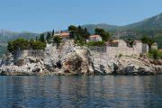 Budva, Montenegro - vista dal mare