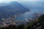 Kotor, Montenegro - Fiordo visto dall'alto