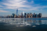 New York - Skyline dal mare