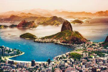 Brasile- Rio de Janeiro - Vista dal Corcovado