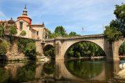 Oporto - Amarante - Ponte sopra il fiume Tamega