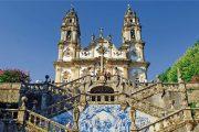 Oporto -Santuario de Nossa Senhora dos Remedios a Lamego con azulejos