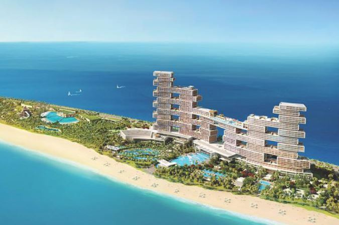 spiaggia di lusso emirati arabi royal atlantis