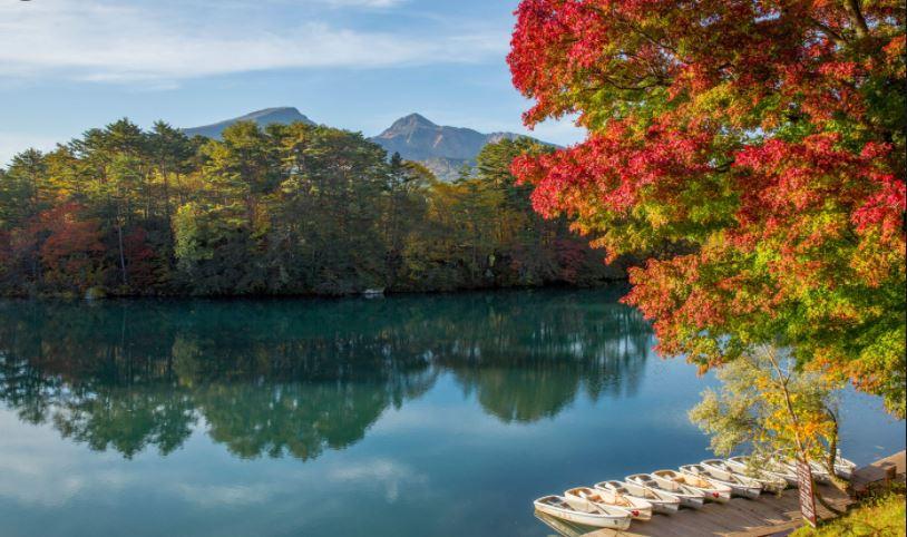 goshikinuma laghi colorati