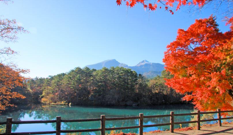 i laghi colorati di goshikinuma