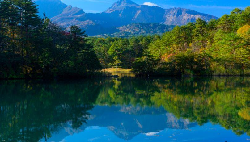5 laghi colorati giappone