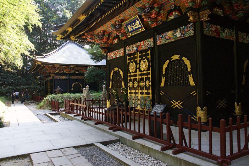 Il mausoleo Zuhioden che custodisce le spoglie di DAte Matsomune