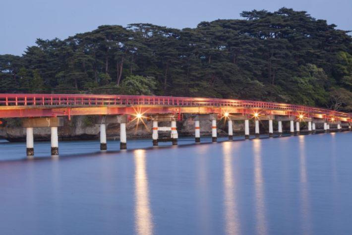 il ponte rosso di matsushima