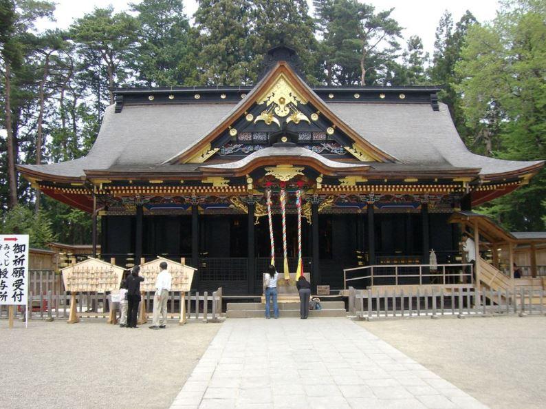 mausoleo tour di sendai giappone